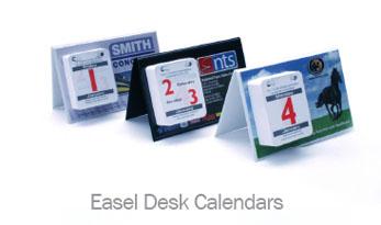Easel Desk Calendars