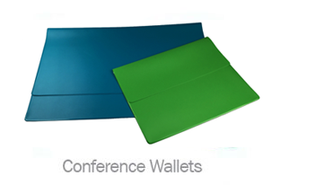 PVC Conference Wallets